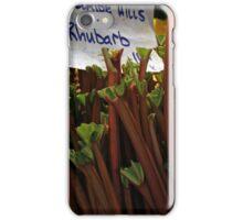 Rhubarb iPhone Case/Skin