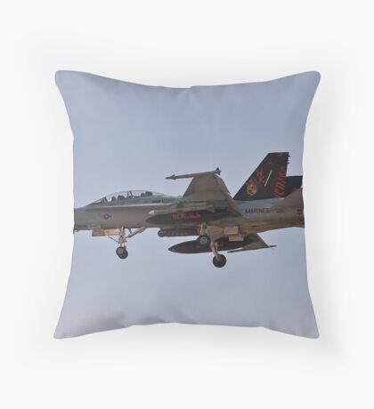 Bengals F/A-18 Hornet Throw Pillow