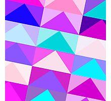 Modern Triangles Photographic Print