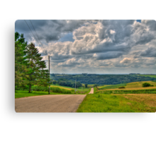 Back-roads Canvas Print