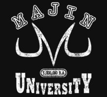 Majin university Kids Tee