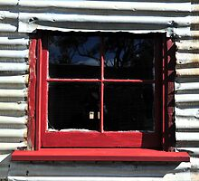 Red Window by Bryan Cossart