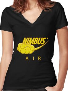 Nimbus air Women's Fitted V-Neck T-Shirt