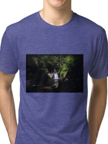 Tumbling Summer Tri-blend T-Shirt