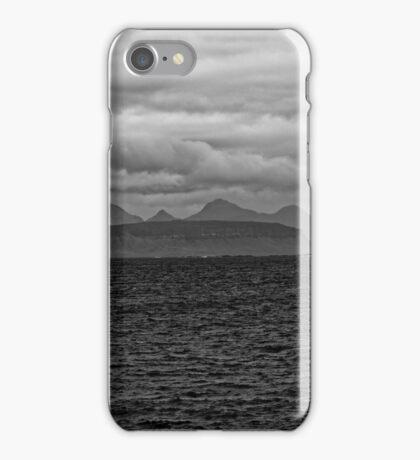 Eigg, Rum, Sea and Sky iPhone Case/Skin