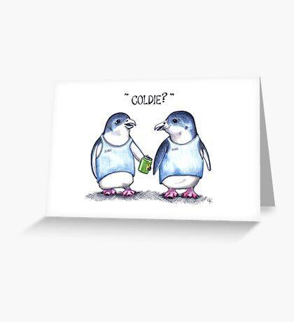 Coldie? Greeting Card