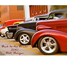 Back to the Bricks Classic Cars 2010 Photographic Print