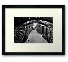 Spooky Cellar Framed Print