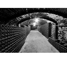 Spooky Cellar Photographic Print