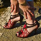 The red shoes by Gerard Rotse