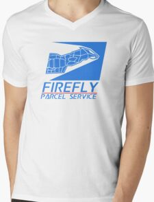 Firefly Parcel Service Mens V-Neck T-Shirt
