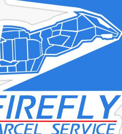 Firefly Parcel Service Sticker