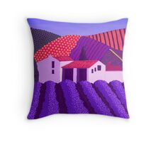 Lavender's er...........Mauve Throw Pillow