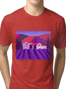 Lavender's er...........Mauve Tri-blend T-Shirt