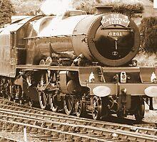 Princess Elizabeth at Scarborough  by TREVOR34