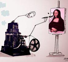 leonardos lost invention by Loui  Jover