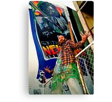 South of the Border.... Newtown graf Canvas Print