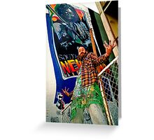 South of the Border.... Newtown graf Greeting Card