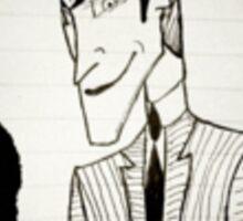 Joker Man Sticker