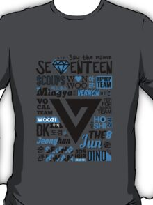 SEVENTEEN Collage T-Shirt
