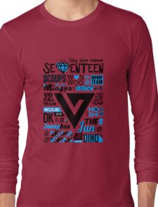 SEVENTEEN Collage Long Sleeve T-Shirt