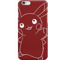 Line pikachu iPhone Case/Skin