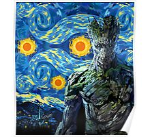 Guardian of the Starry night Poster