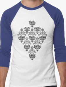 Owl, Ghost and Cyclops Monster Pattern Art Men's Baseball ¾ T-Shirt