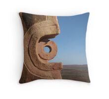 Art at the end of the world Broken Hill Sculptures Throw Pillow