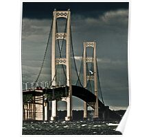 Mackinac Bridge No 0816101 Poster
