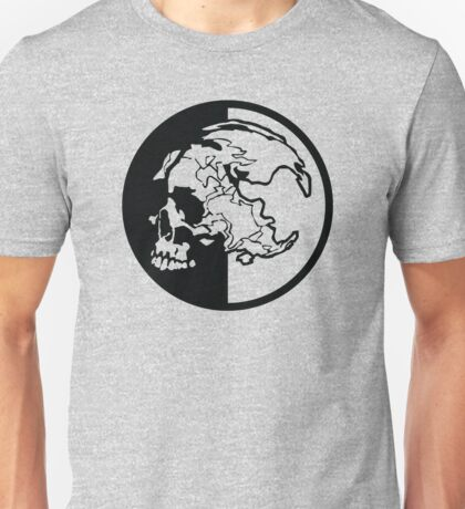 Metal Gear Solid - MSF, Textless, Outline Only Unisex T-Shirt