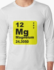 Magnesium Periodic Table of Elements Long Sleeve T-Shirt
