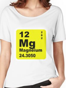 Magnesium Periodic Table of Elements Women's Relaxed Fit T-Shirt
