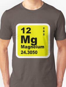 Magnesium Periodic Table of Elements Unisex T-Shirt