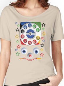 Smiley Toys Dial Phone Women's Relaxed Fit T-Shirt