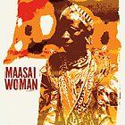 Maasai woman by Konstantinos Arvanitopoulos