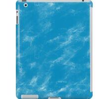 Blue watercolor iPad Case/Skin