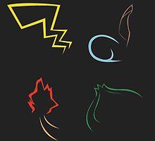 Pokemon digital by linarty