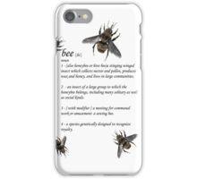 Definition of a Bee - Jupiter Ascending iPhone Case/Skin