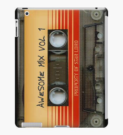 Awesome transparent mix cassette tape volume 1 iPad Case/Skin