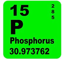 Phosphorus Periodic Table of Elements by walterericsy