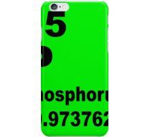 Phosphorus Periodic Table of Elements iPhone Case/Skin