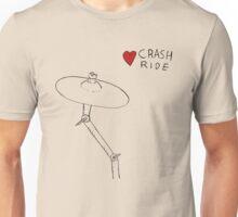 I Love Crash Ride Unisex T-Shirt