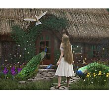 The Enchanted Cottage... Photographic Print