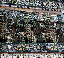 At Wat Arun, Bangkok by Indrani Ghose