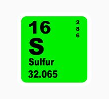 Sulfur Periodic Table of Elements Unisex T-Shirt