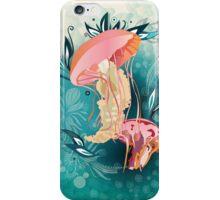 Jellyfish tangling iPhone Case/Skin