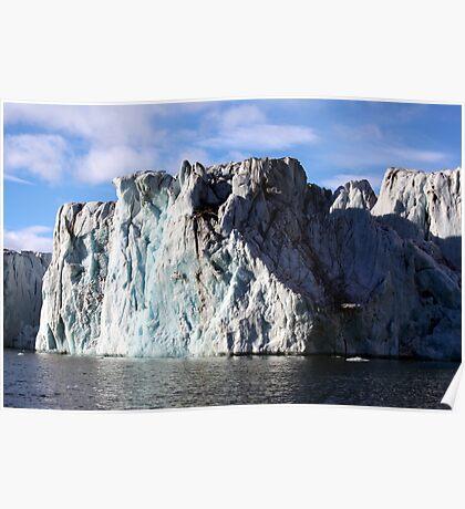 The Glaciers Edge Poster
