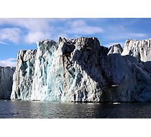 The Glaciers Edge Photographic Print