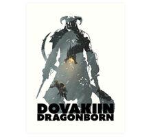 Dovakiin/Dragonborn Art Decal Art Print